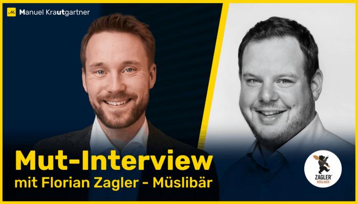 Mut-Interview mit Florian Zagler dem Müslihersteller